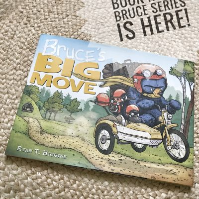 Bruce's Big Move! A Giveaway!