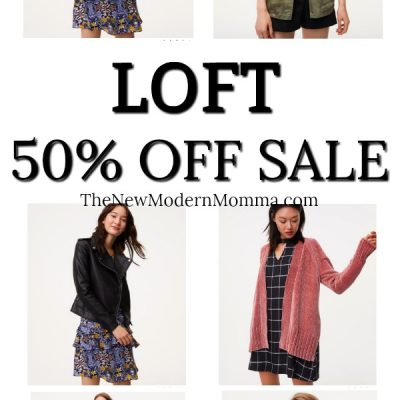 HUGE Loft Sale – 50% off EVERYTHING