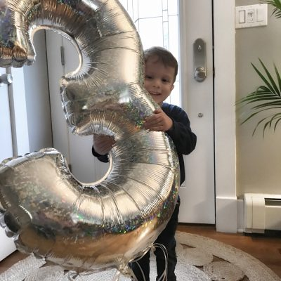 Anthony is THREE Years Old