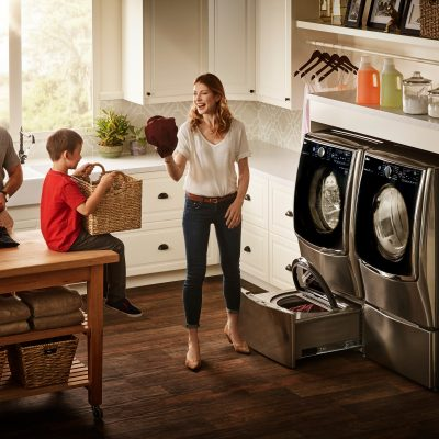 The NEW LG Twin Wash System at Best Buy
