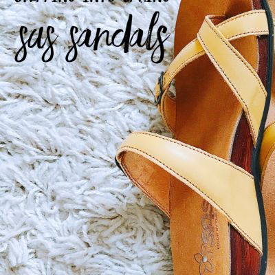 Stepping into Spring with SAS Sandals