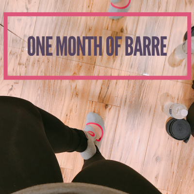Update // One Month of Barre Class