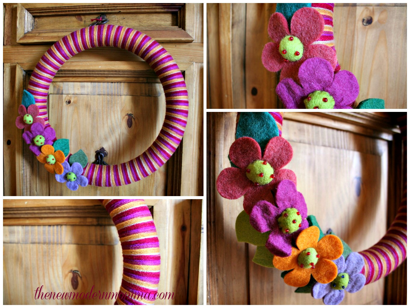 Pinterest Project Comes to Life! A Fall Wreath