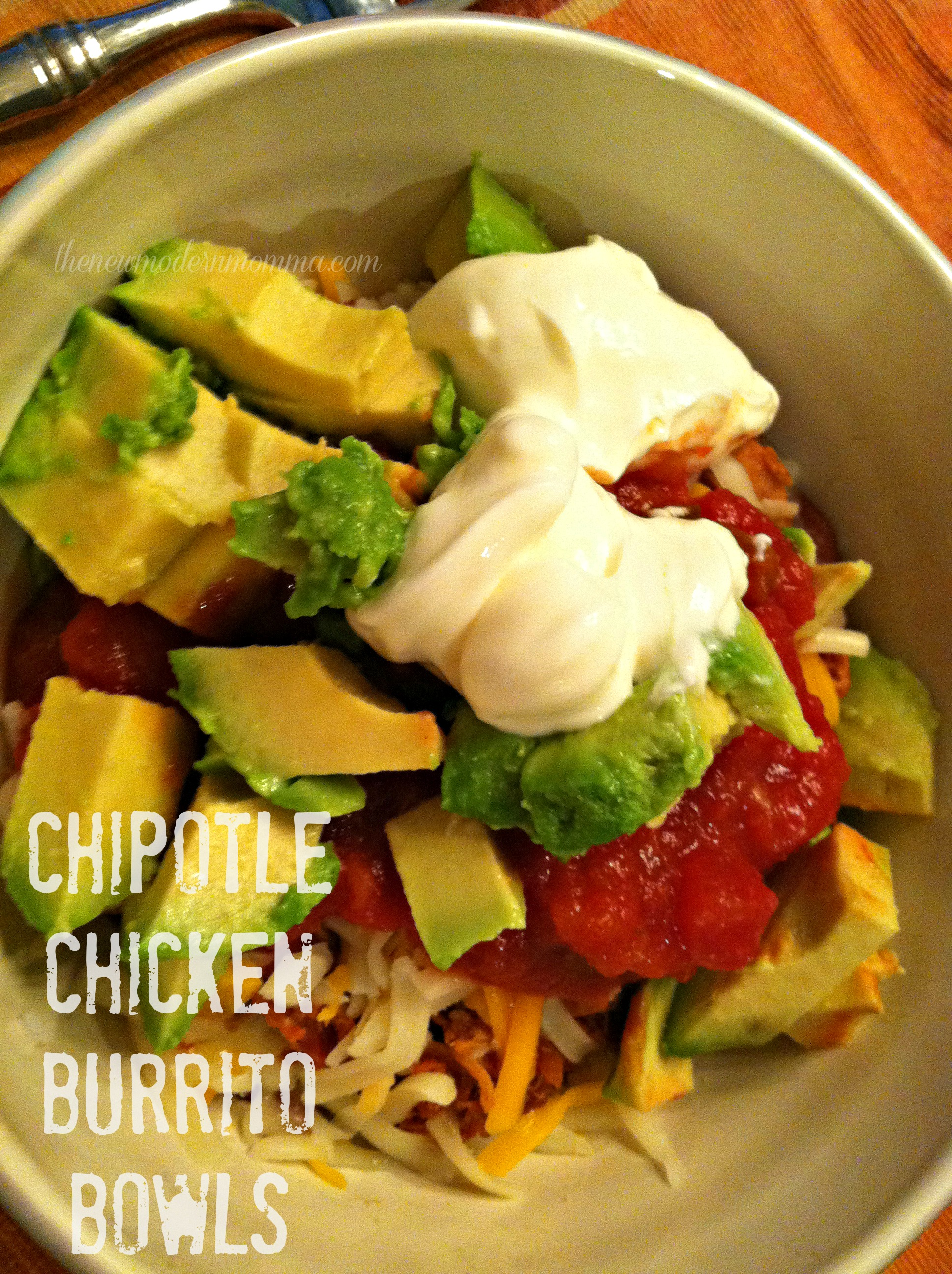Chipotle Inspired Chicken Burrito Bowls | Tasty Tuesday Recipe Swap