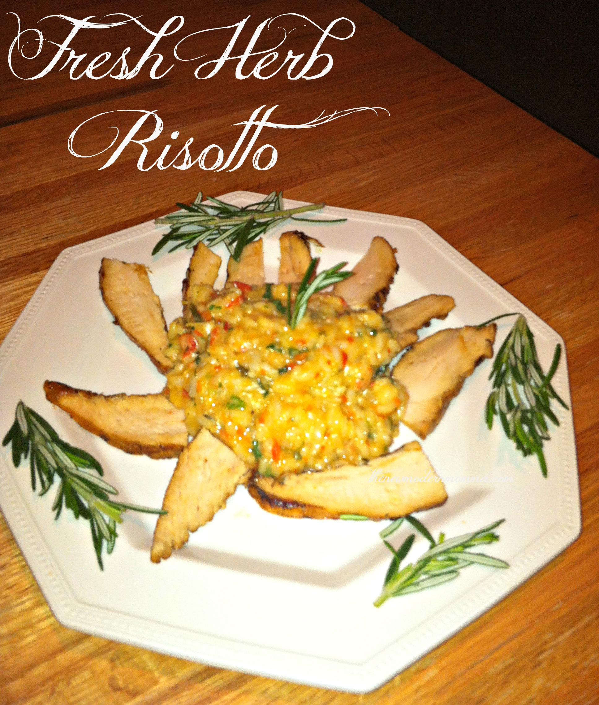Herbed Risotto | Tasty Tuesday Recipe Swap