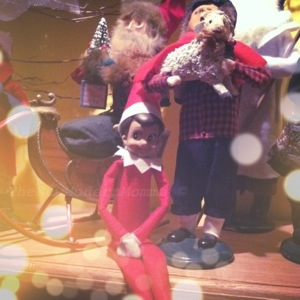 Wordless Wednesday | Our Elf on the Shelf