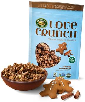 Nature's Path Love Crunch Granola | #HolidayGiftGuide