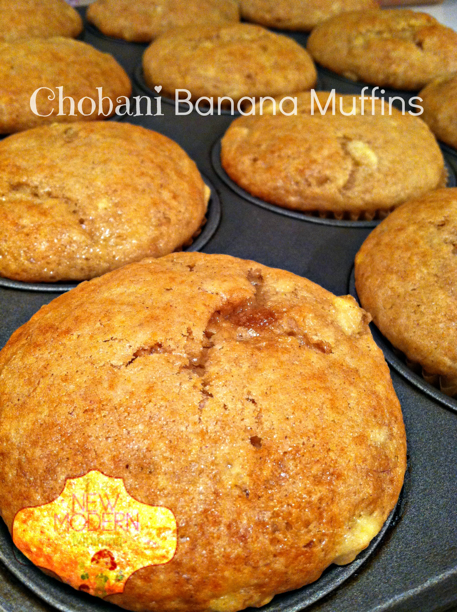 Chobani Banana Muffins | Tasty Tuesday