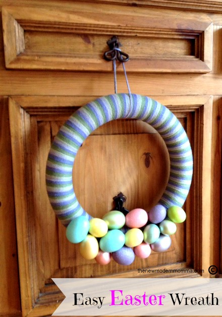Easy Easter Wreath