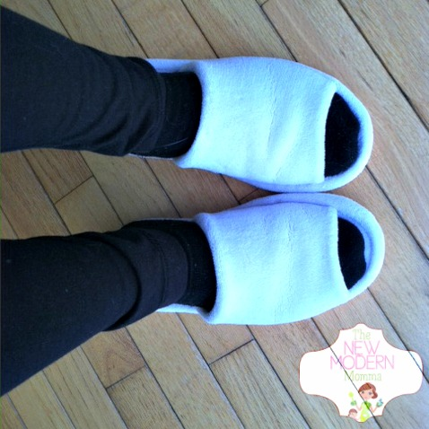 Nature's Sleep Memory Foam Slippers :: Just What My Pregnant Feet Need!