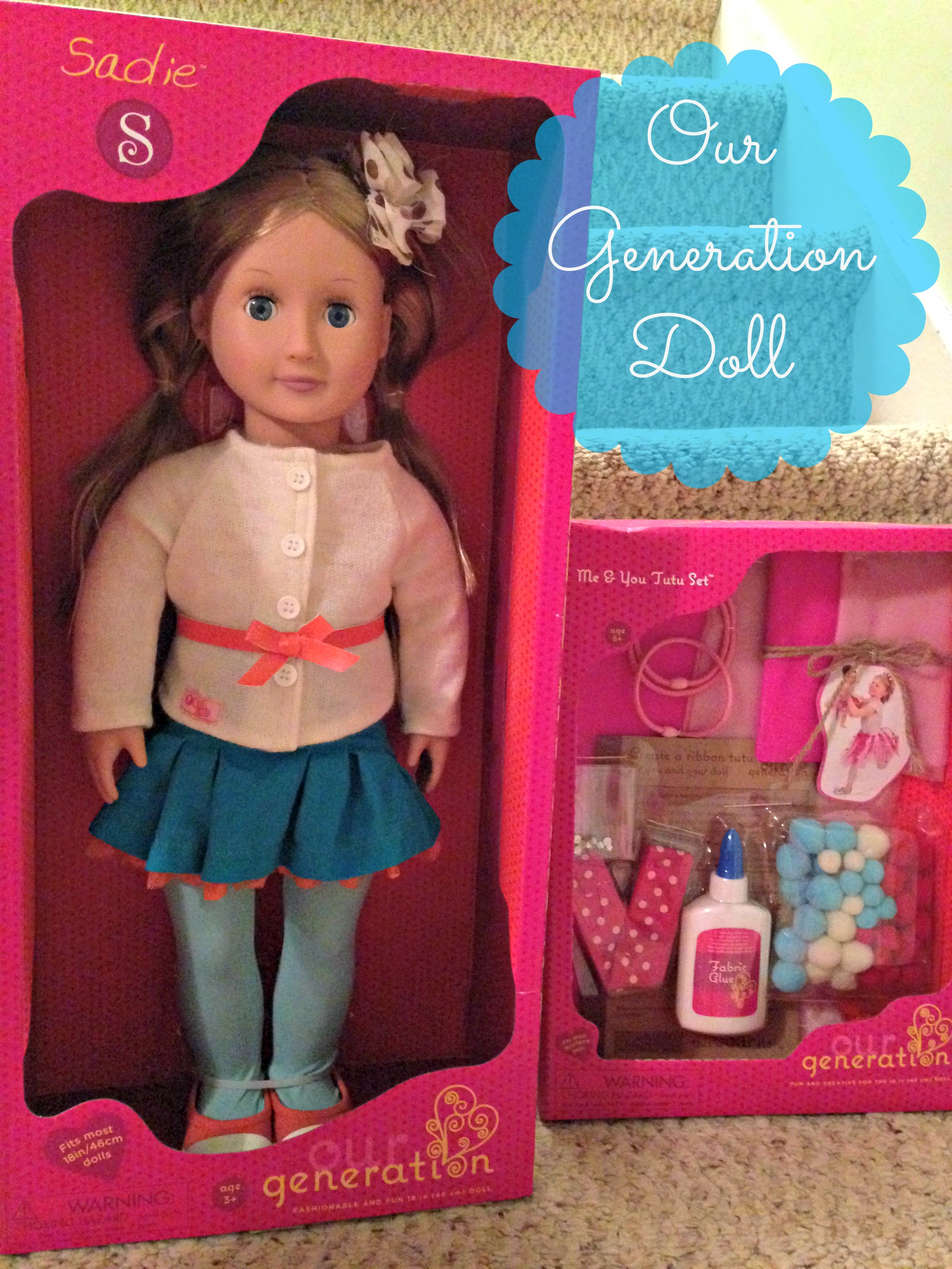 Our Generation Dolls and Craft Sets #MMHolidayGiftGuide