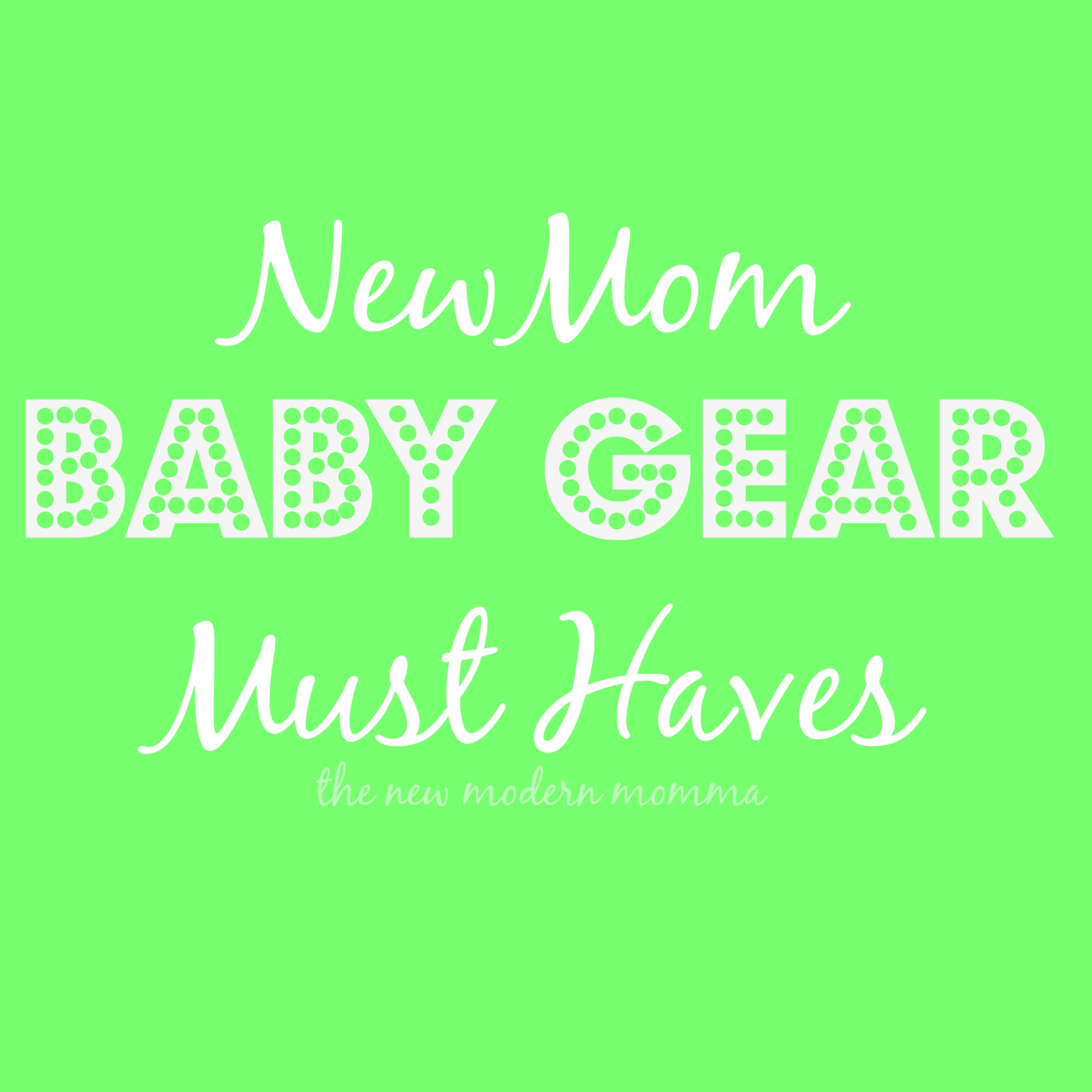 Must Have Baby Items {Second Born}