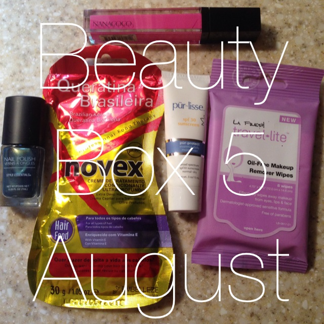Beauty Box 5 // August {review}