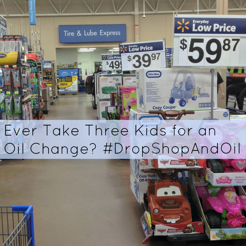 Ever Take Three Kids for an Oil Change?