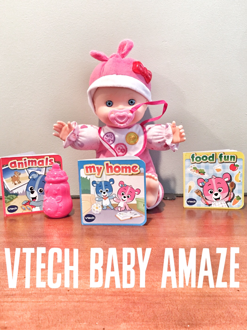 VTech Baby Amaze Learn to Talk & Read Baby Doll