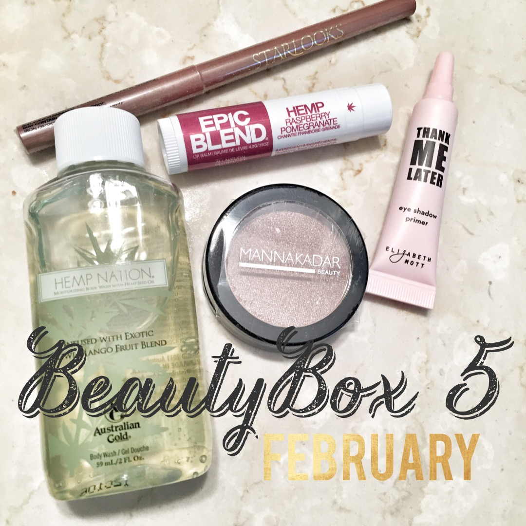 beautybox 5 || birthday sweets! – february unboxing