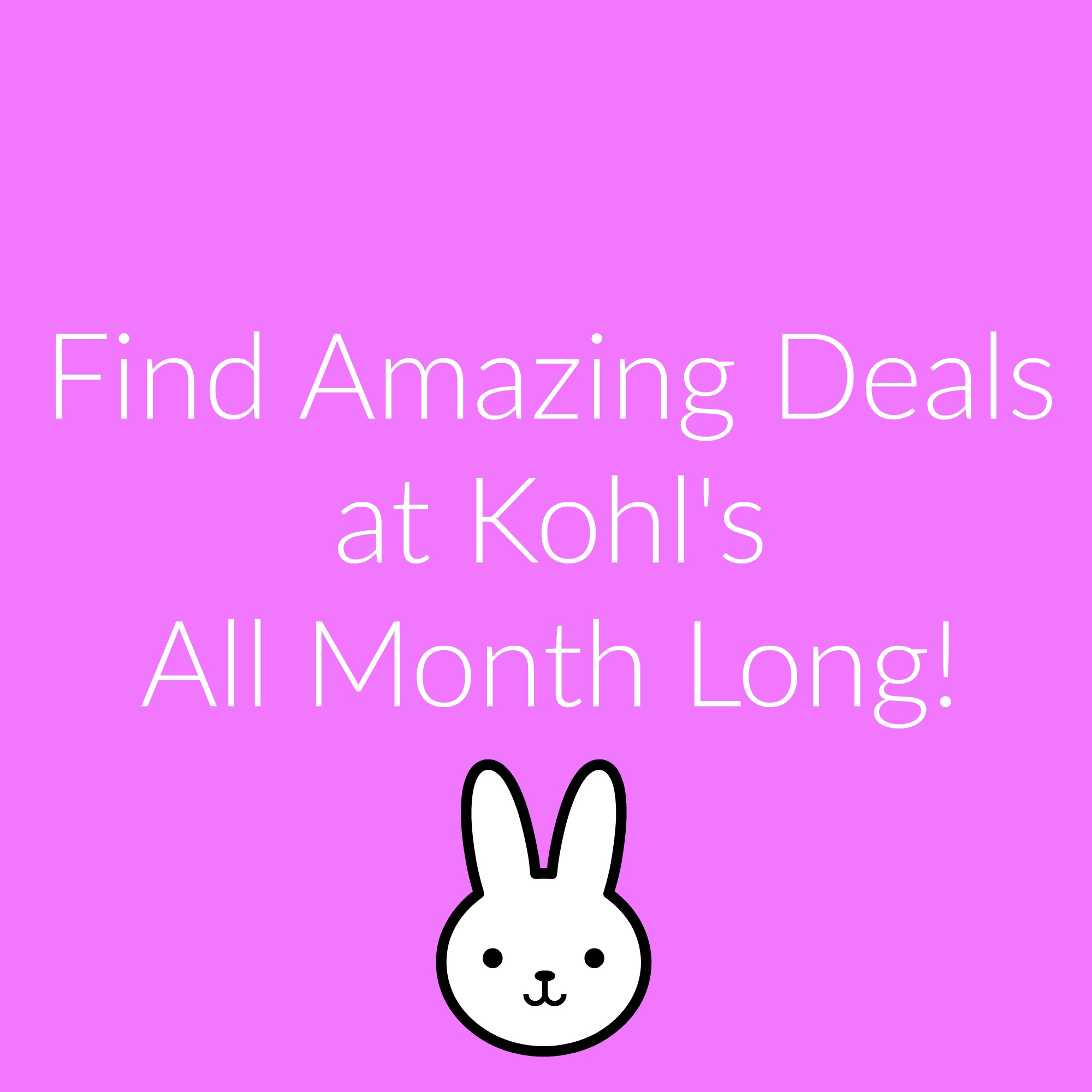 April is Full of Deals at Kohl's!