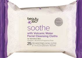 Beauty Alert: NEW Facial Cleansing Cloths from BEAUTY 360