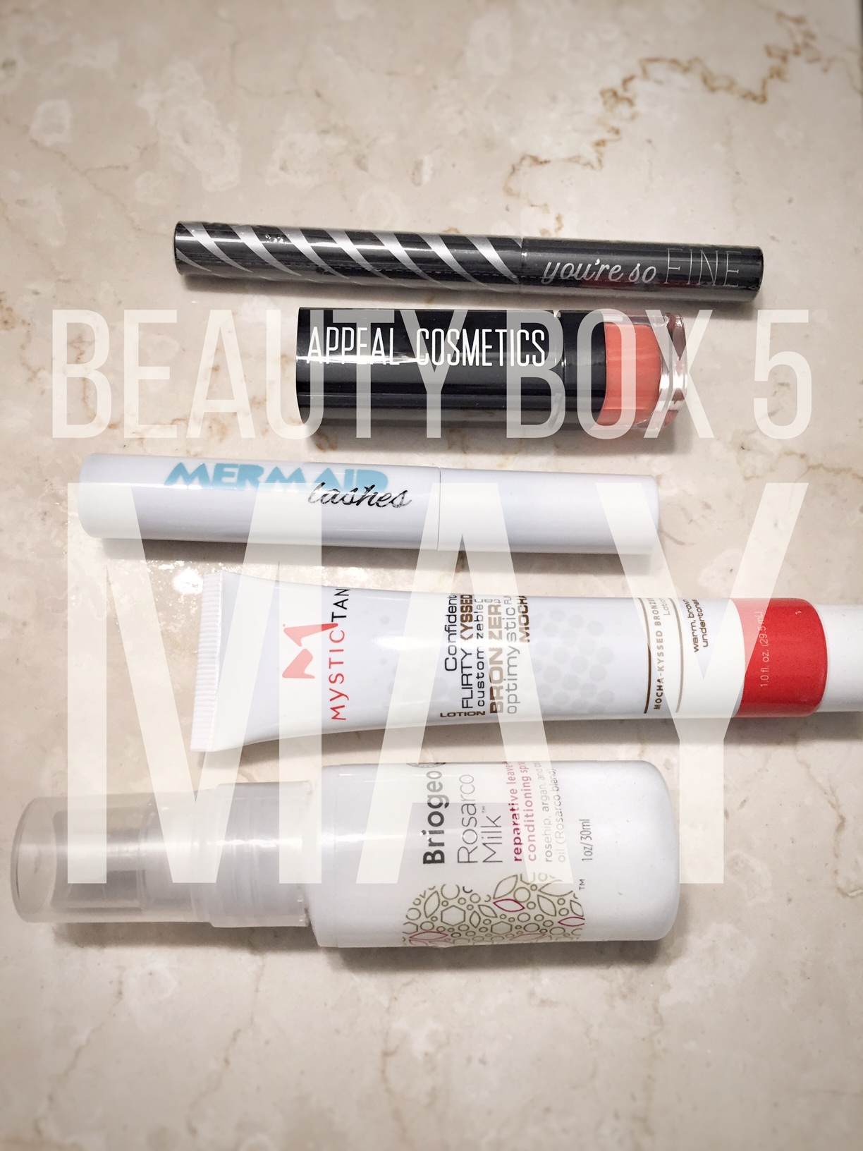 Beauty Tuesday // Beauty Box 5 – MAY – Unboxing