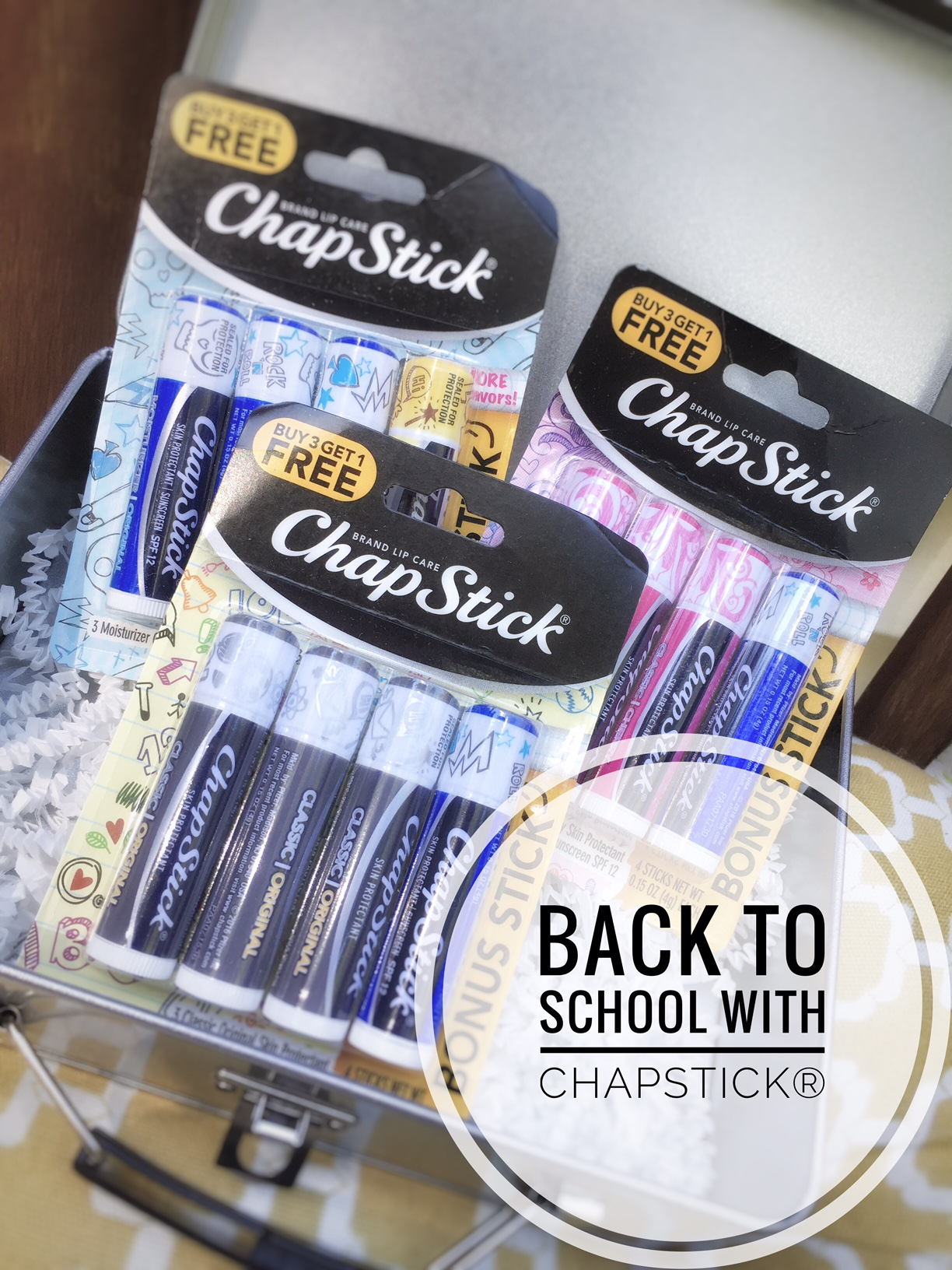 Back-to-School with ChapStick / Giveaway