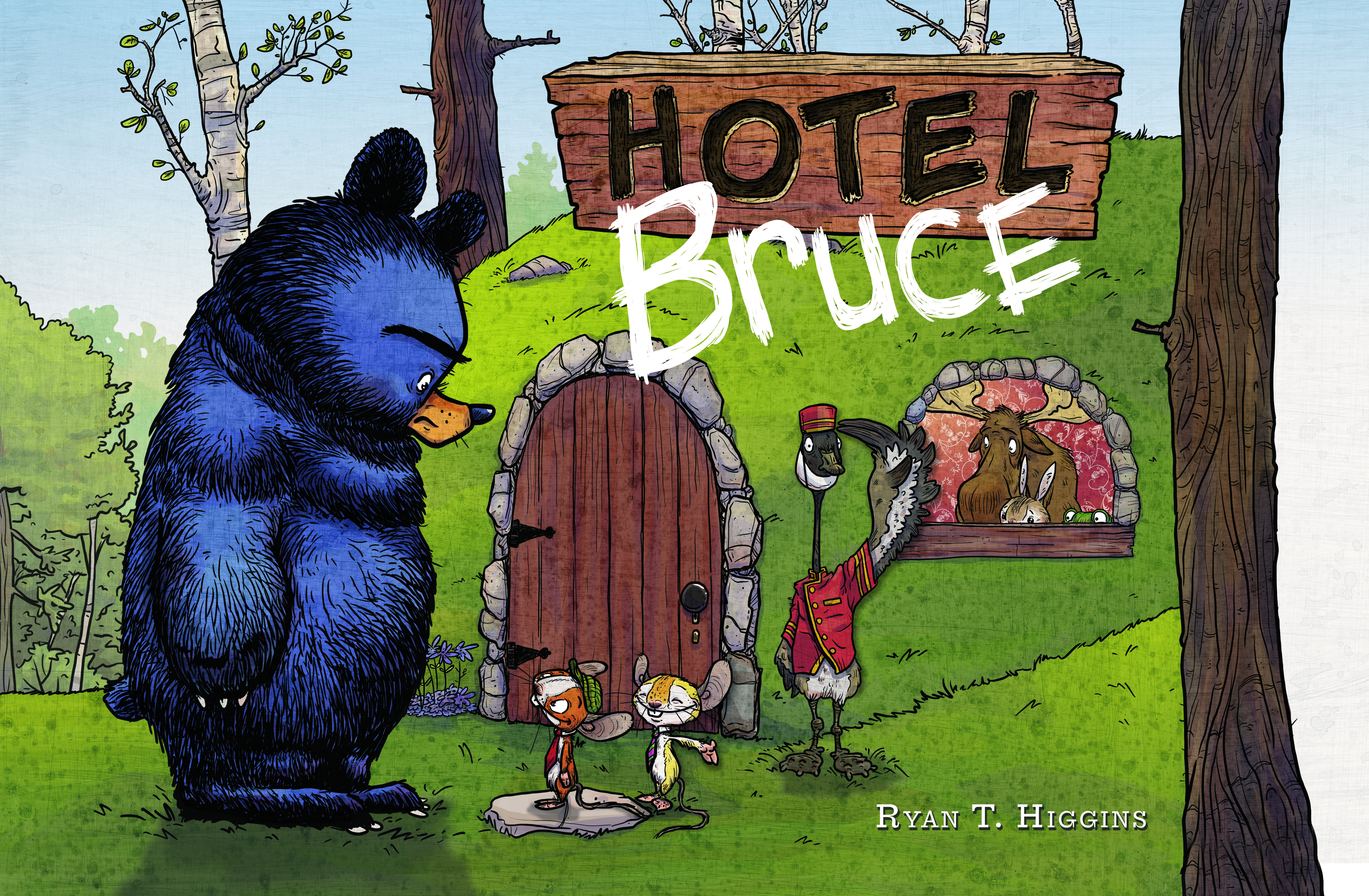 Check in for a relaxing night at Hotel Bruce! Giveaway