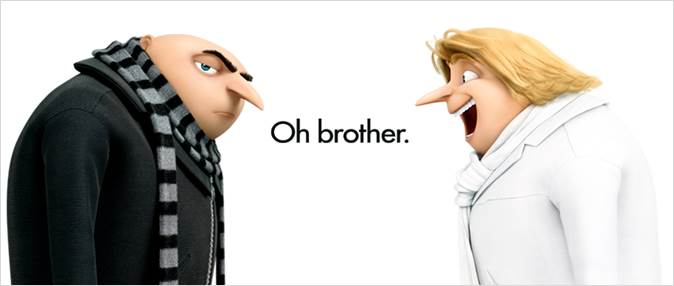 Check out the NEW trailer for DESPICABLE ME 3!!!