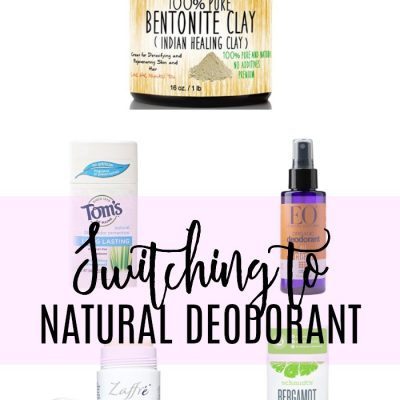 Favorite Natural Deodorants
