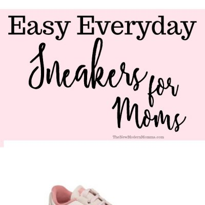 Easy Everyday Sneakers for Moms