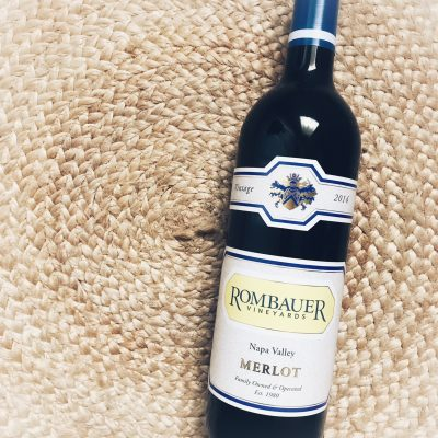 Merlot Month – Rombauer Vineyards