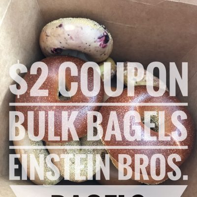 Buy in Bulk for the Holiday // Einstein Bros. Bagels