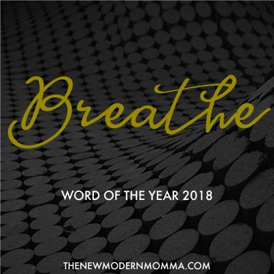 My Word of the Year // 2018