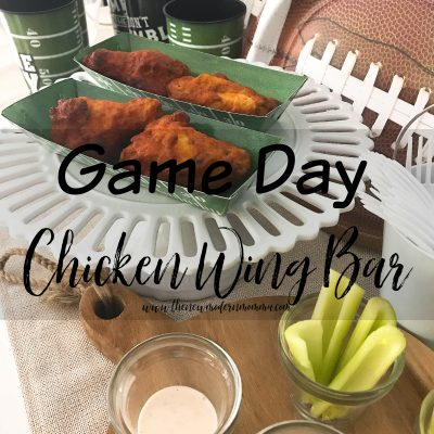 Game Day Snacks with Tyson Any'tizers® Buffalo Style Bone-In Chicken