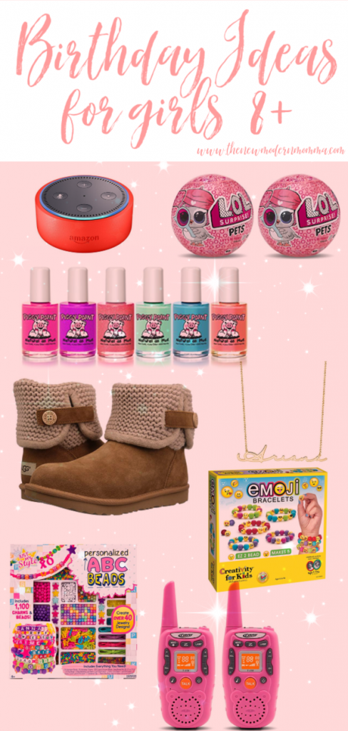 Christmas Presents For 8 Year Olds Girl.Gift Ideas For An Eight Year Old Girl The New Modern Momma