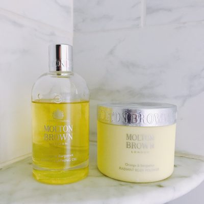 Relaxing with Molton Brown London