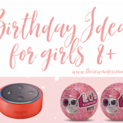 Gift Ideas for an Eight Year Old Girl