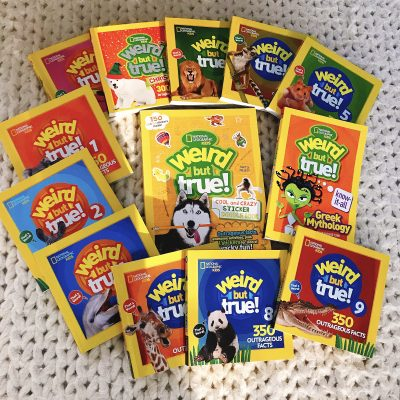 National Geographic Kids Weird But True! Mega Prize Pack – Giveaway